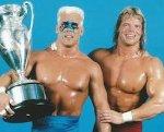 Crockett Cup Winners 1988 Sting & Lex Luger - JIM Crockett ...